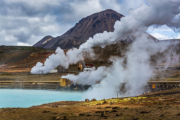 Geothermal Energy Definition | Pros and Cons - mountain image