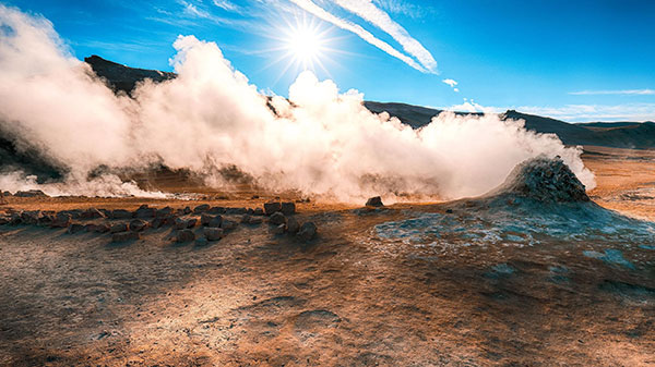 Geothermal Energy | Where it Comes from -steam image