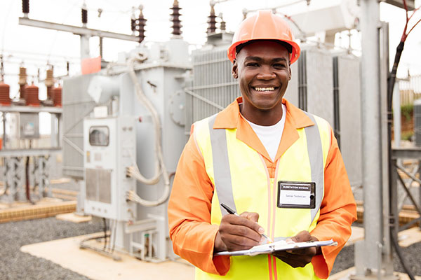 Electricity | Where it Comes From and It's Origins - Electric Company worker image