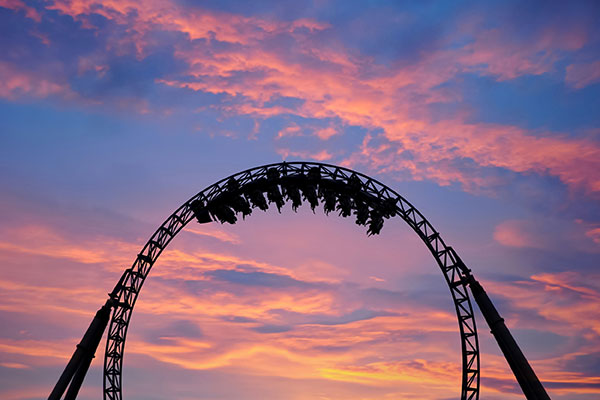 Kinetic Energy Examples   Explained Types -roller-coaster-image