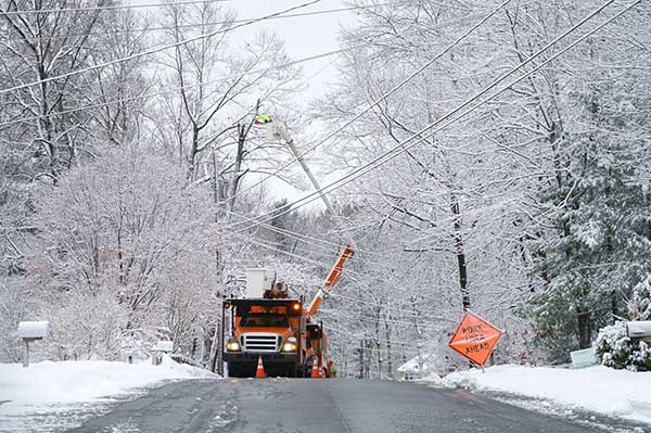 Power Outage Causes | Freezing Weather and Ice