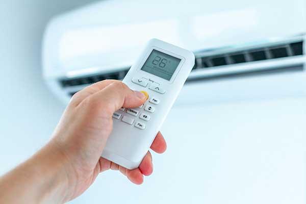 Setting Temperature using Home Air Conditioner